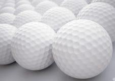 Bolas de golfe Foto de Stock