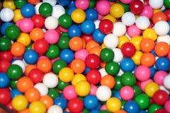 Bolas de goma clasificadas Foto de archivo libre de regalías