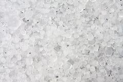 Bolas de hielo del granizo Fotografía de archivo libre de regalías