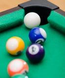 Bolas de juego de la piscina Imagen de archivo libre de regalías