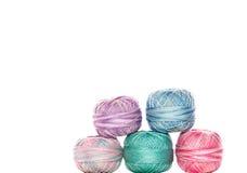Bolas de la cuerda de rosca Foto de archivo libre de regalías