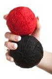 Bolas de la cuerda de rosca Fotografía de archivo libre de regalías