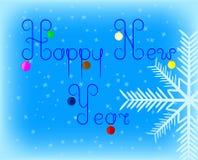 Bolas de la Feliz Año Nuevo libre illustration