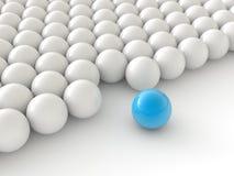 Bolas de la individualidad stock de ilustración