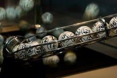 Bolas de la lotería Foto de archivo