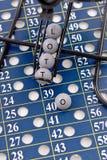 Bolas de la loteria Imágenes de archivo libres de regalías