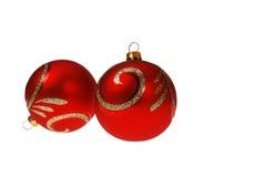 Bolas de la Navidad Foto de archivo libre de regalías