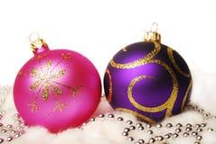 Bolas de la Navidad. Foto de archivo libre de regalías