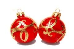 Bolas de la Navidad. Fotografía de archivo libre de regalías