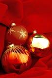 Bolas de la Navidad Fotos de archivo