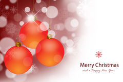 Bolas de la Navidad. Imagenes de archivo