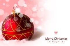 Bolas de la Navidad. Fotos de archivo