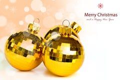 Bolas de la Navidad. Imágenes de archivo libres de regalías