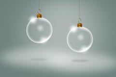 Bolas de la Navidad. Imagen de archivo