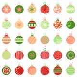 Bolas de la Navidad libre illustration