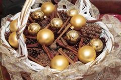 Bolas de la Navidad Foto de archivo