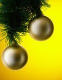 Bolas de la Navidad imagenes de archivo