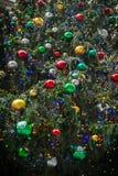 Bolas de la Navidad de la bolsa de acción Fotografía de archivo libre de regalías