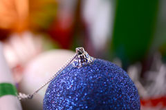 Bolas de la Navidad, decoración del Año Nuevo Imagen de archivo libre de regalías