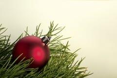 Bolas de la Navidad del Año Nuevo imágenes de archivo libres de regalías