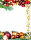 Bolas de la Navidad del advenimiento Foto de archivo