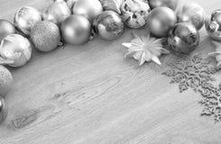 Bolas de la Navidad en el árbol de navidad Imagen de archivo