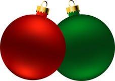 Bolas de la Navidad (vector) libre illustration