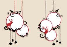 Bolas de la Navidad, vector Imagen de archivo