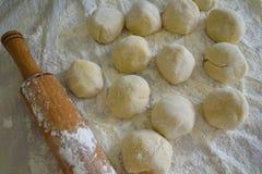 Bolas de la pasta Imagen de archivo
