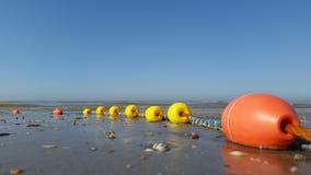 Bolas de la red de pesca Imágenes de archivo libres de regalías