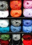 Bolas de lanas Foto de archivo libre de regalías