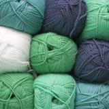 Bolas de las lanas Imágenes de archivo libres de regalías