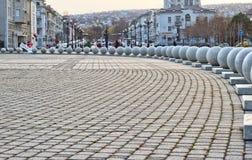 Bolas de mármore em Novorossiysk Imagens de Stock Royalty Free