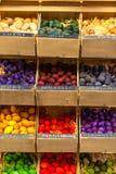 Bolas de madeira scented exóticas para a venda em França Imagem de Stock Royalty Free