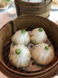 Bolas de masa hervida chinas Foto de archivo libre de regalías