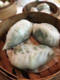 Bolas de masa hervida chinas Imagen de archivo libre de regalías