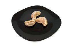 Bolas de masa hervida chinas de la carne Imágenes de archivo libres de regalías