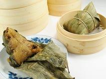 Bolas de masa hervida chinas del arroz Imagen de archivo libre de regalías