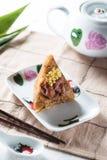 Bolas de masa hervida chinas del arroz (Guangdong) Imagenes de archivo