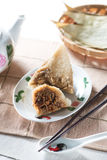 Bolas de masa hervida chinas del arroz (Nyonya) Fotos de archivo