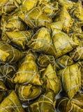 Bolas de masa hervida de Zonzi del chino tradicional Imagenes de archivo