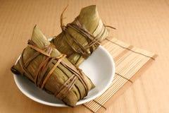 Bolas de masa hervida del arroz Foto de archivo libre de regalías