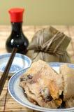 Bolas de masa hervida del arroz Fotografía de archivo