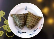 Bolas de masa hervida del arroz Fotos de archivo