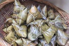 Bolas de masa hervida del arroz Foto de archivo