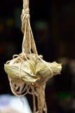 Bolas de masa hervida del arroz Fotos de archivo libres de regalías