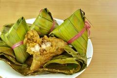 Bolas de masa hervida del arroz Imagen de archivo