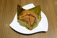 Bolas de masa hervida gigantes del arroz pegajoso Foto de archivo libre de regalías