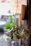 Bolas de masa hervida pegajosas del arroz Fotos de archivo libres de regalías
