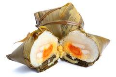 Bolas de masa hervida tradicionales del arroz Imágenes de archivo libres de regalías